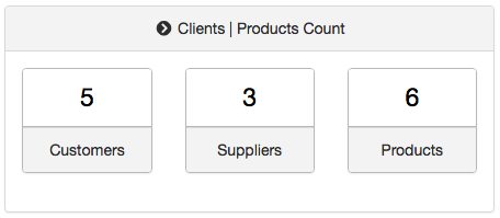 Clients | Products Count Web